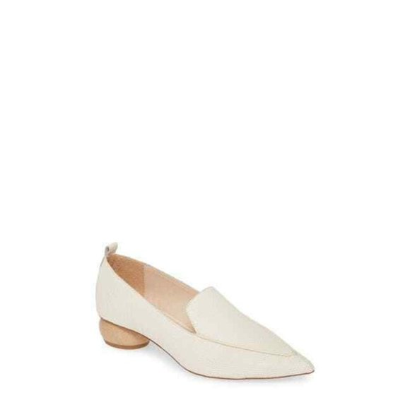 JEFFREY CAMPBELL Viona Pointed Toe Loafer Flats